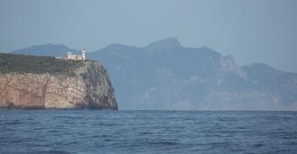 Arrivée en Sicile, Cap avant Trapani, Italie, Photo Serge Briez, Cap médiations 2014