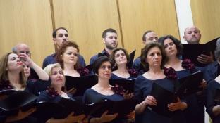 La choral de Leucade, Lefkadas en Grèce, samedi 10 Mai 2014, Photo serge Briez, Cap médiations 2014