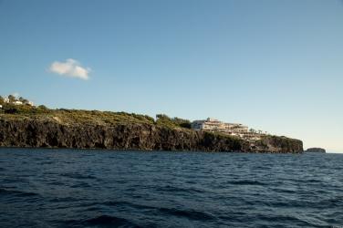 Sud de l'ile de Vulcano, photo Serge Briez, Cap médiations 2014