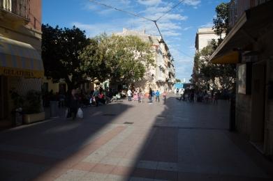 Place de Carlo Forte, Sud Sardaigne. Photo Serge Briez, Cap médiations