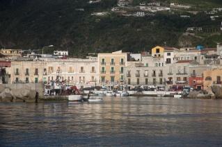 Port de Lipari, iles éolienne, Italie, Photo Serge Briez, Cap médiations 2014