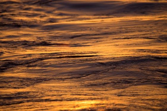 Coucher de soleil sur la mer, Thera explorer, photo Serge Briez, Cap mediations 2014