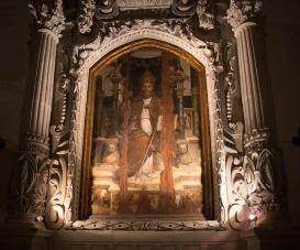 Intérieur du Duomo, chapelle latérale, à Syracuse, photo Serge Briez, Cap médiations 2014