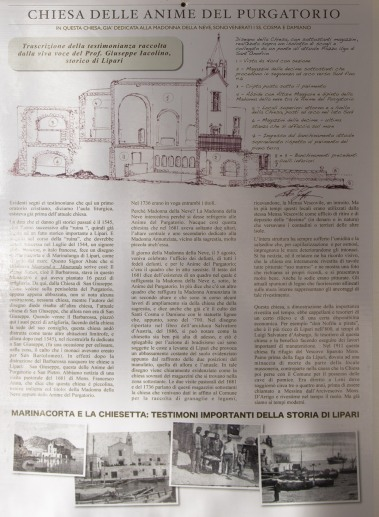 Présentation de la crèche de l'église de la Madonna della Nueve, photo Serge Briez, Cap médiations 2014