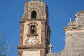 Clocher de la basilique San bartoloméo, Lipari, photo Serge Briez, Cap médiations 2014
