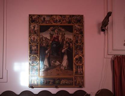 Rétable dans la Basilique San Bartoloméo, île de Lipari, photo Serge Briez, Cap médiations 2014