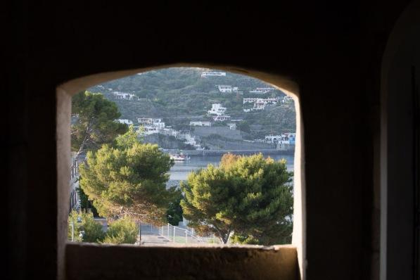 Vue depuis les ouverture de la forteresse de Lipari, photo Serge Briez, Cap médiations 2014