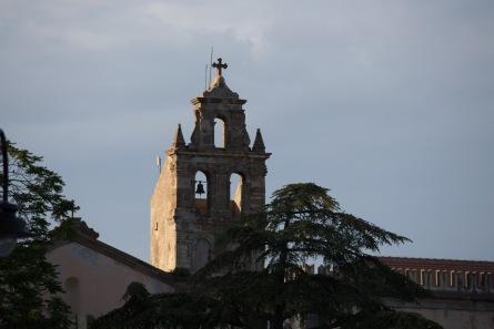 Clocher de la cathédrale de Lipari, îles eoliennes, photo Serge Briez, Cap médiations 2014