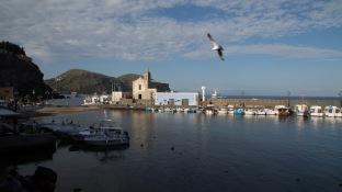 Port de Lipari, photo Serge Briez, Cap médiations 2014