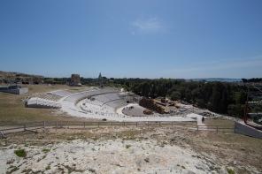 Téatro Greco, Parc archéologique de Neapolis, Syracuse, photo Serge Briez, Cap médiations 2014