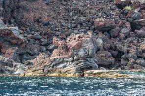 Roches colorées au pieds du Volcan au Sud de l'ile, photo Serge Briez, Cap médiations 2014