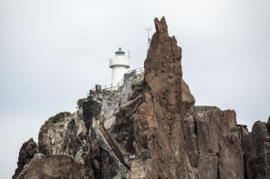Escalier et phare du Strombolicchio, photo Serge Briez, Cap médiations 2014