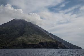 face Nord du Stromboli, photo Serge Briez, Cap médiations 2014