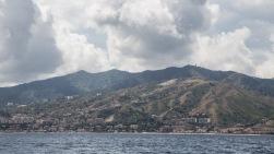 Détroit de Messine vue depuis Thera explorer, photo Serge Briez, Cap médiations 2014