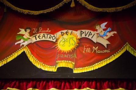 Teatro Dei Pupi, Via della Giudecca, Syracuse, photo Serge Briez, Cap médiations 2014