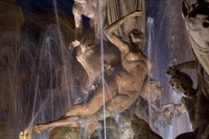 La fontaine de Diane, Piazza Archimède, Syracuse, photo Serge Briez, Cap médiations 2014