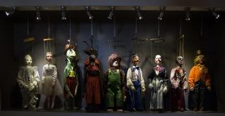 Marionnettes du Museo dei Pupi, Syracuse, photo Serge Briez, Cap médiations 2014
