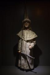 Marionnette d'enchanteur, du Museo dei Pupi, Syracuse, photo Serge Briez, Cap médiations 2014