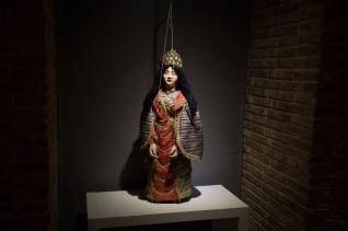 Marionnette d'Angélique, du Museo dei Pupi, Syracuse, photo Serge Briez, Cap médiations 2014