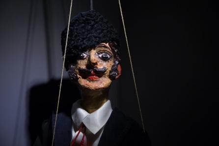 Marionnette du Museo dei Pupi, Syracuse, photo Serge Briez, Cap médiations 2014