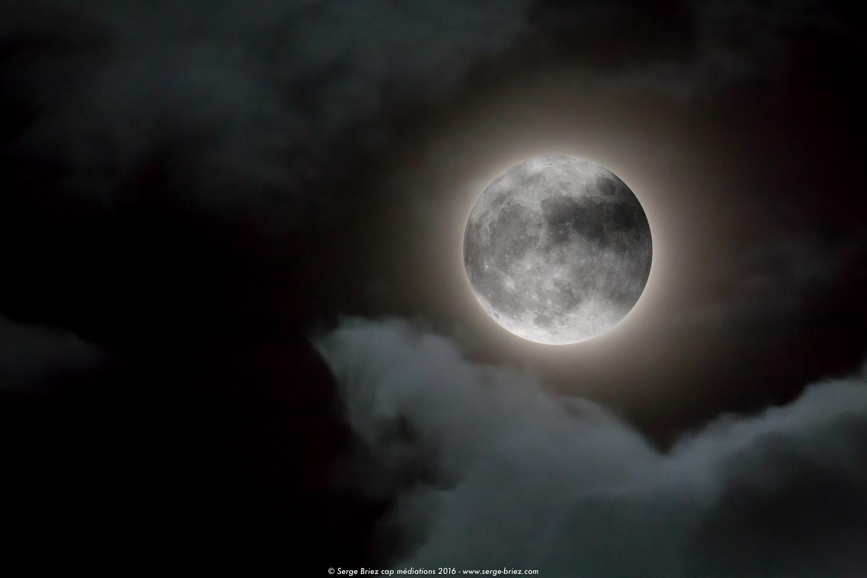super lune leucate, photo Serge Briez ®