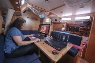 publication en ligne à bord