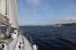 Portfolio Thera explorer par Serge Briez, Photos de Corse, Vue de l'arrivée sur Bonifacio